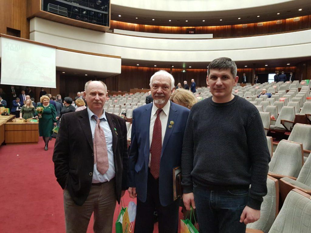 Быков А.Ю. и Матерухин А.В. на XXXII Съезде Фермеров АККОР
