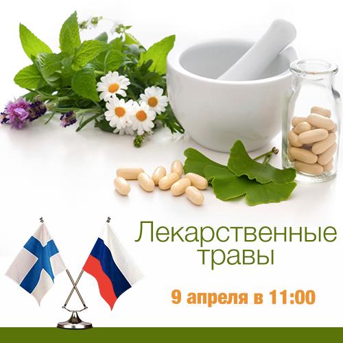 Лекарственные травы - Телемост Россия - Финляндия