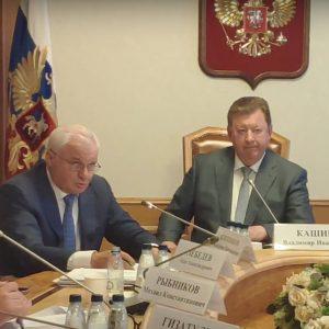 Совещание Государственной Думы по вопросу резкого роста цен на минеральные удобрения